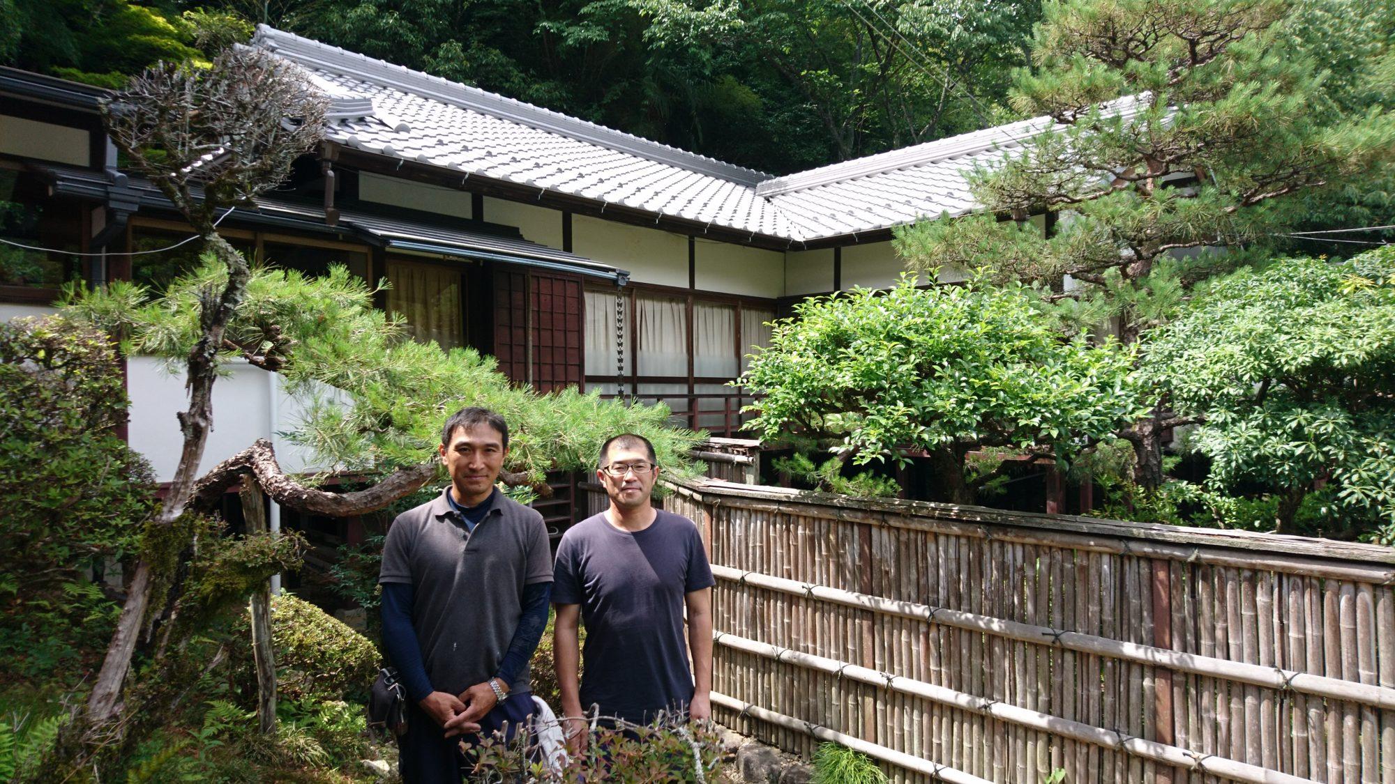 岐阜市三田洞のお寺さん工事完了です。