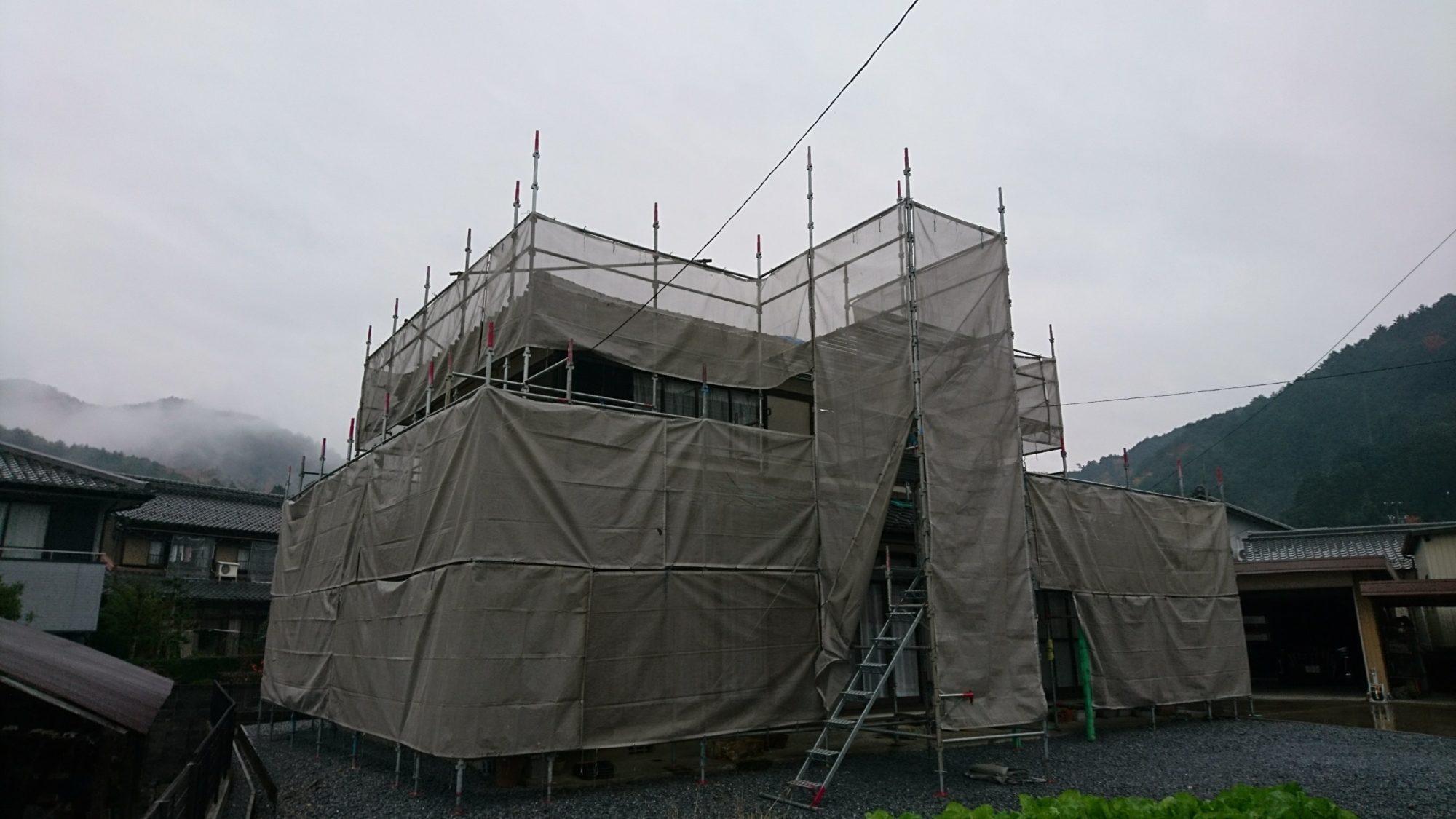 岐阜市で、屋根工事をしています。