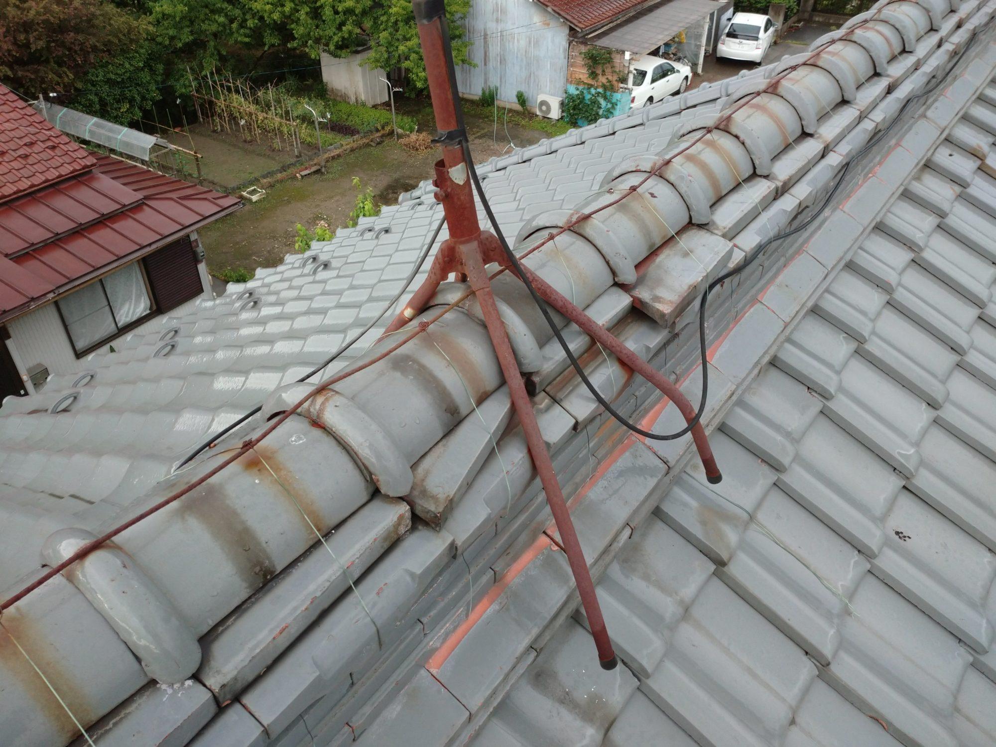 岐阜市で 棟の工事をしています。